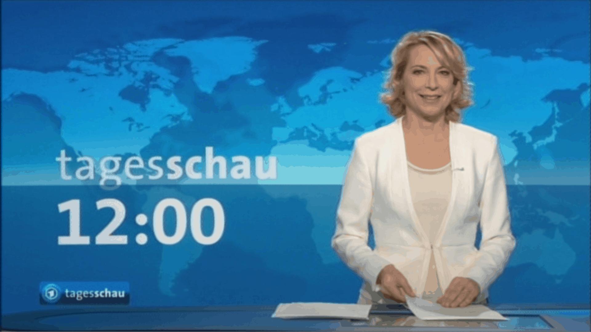 Tv moderatorin tagesschau f r nachrichten magazine for Nachrichten magazin
